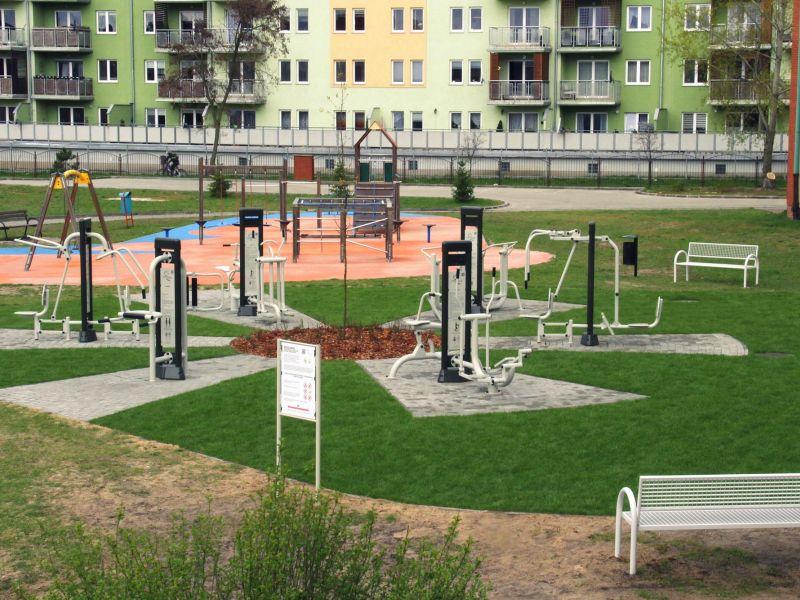 W Tomaszowie powstają Otwarte Strefy Aktywności Fizycznej
