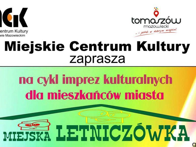 Miejska Letniczówka, czyli kolejny cykl imprez w MCK