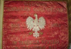 Skarby tomaszowskich placówek: sztandar Seminarium Nauczycielskiego