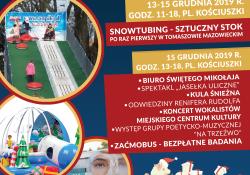 Coraz bliżej święta - impreza na pl. Kościuszki